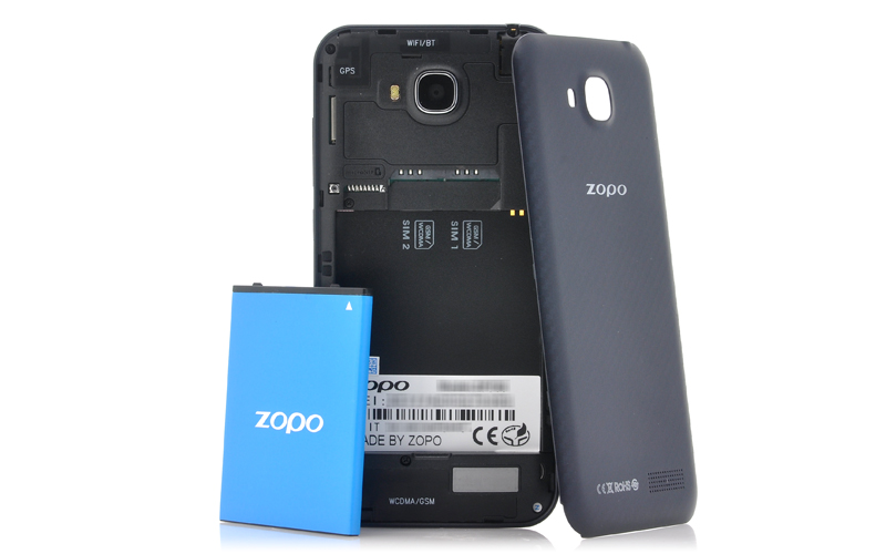 Android 4 2 Phone Zopo back