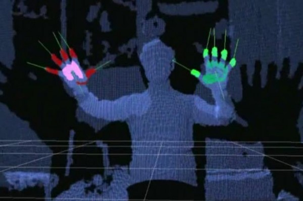 Kinect-Hand-Dedection