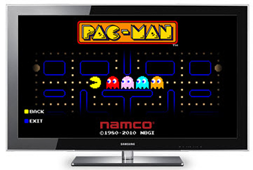 Pac-Man-for-Smart-TV